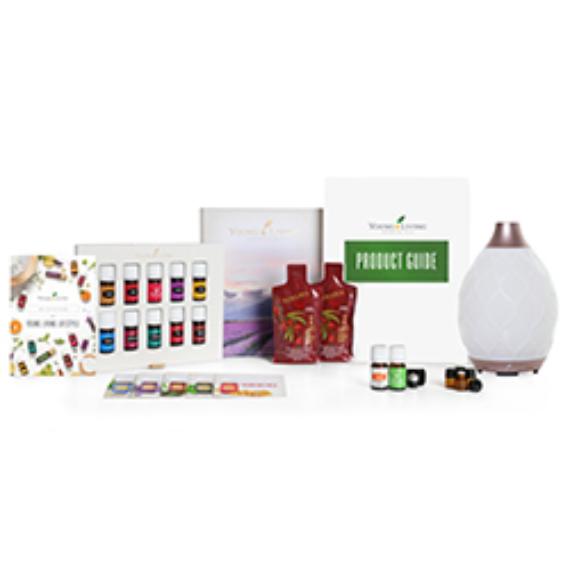 Young Living Premium Starter Kit / Kezdőcsomag Desert Mist Diffúzorral