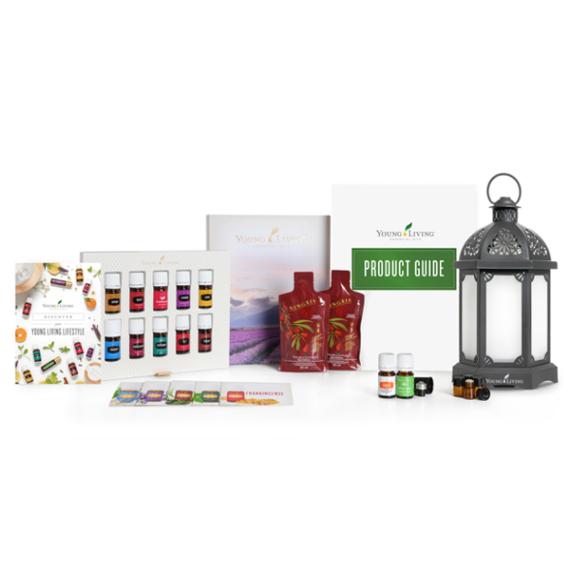 Young Living Premium Starter Kit / Kezdőcsomag Lantern diffúzorral