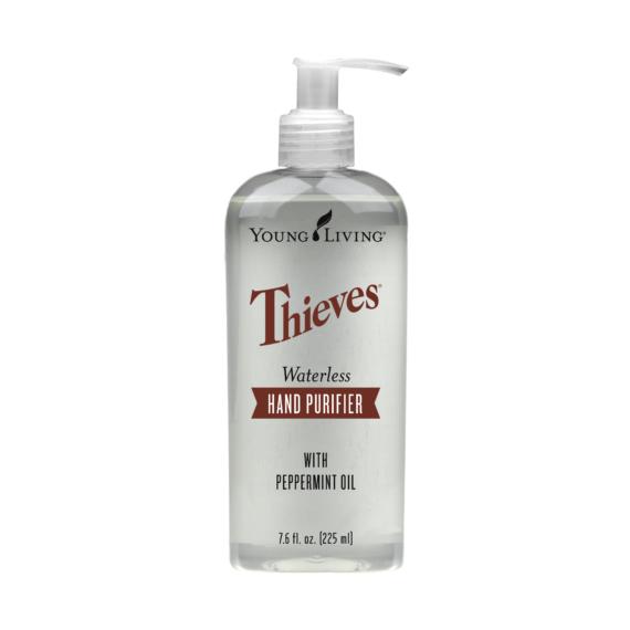 Young Living Thieves Waterless Hand Purifier (Pumpás Kézfertőtlenítő gél)
