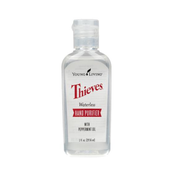 Young Living Thieves Waterless Hand Purifier (Kézfertőtlenítő gél)