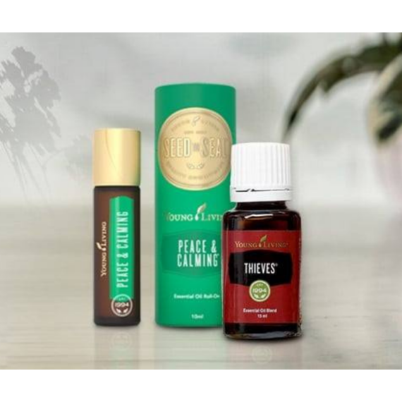 Young Living Peace & Calming Roll-on + Thieves 15ml