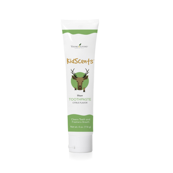 Young Living KidsCents Toothpaste with Slique Essence